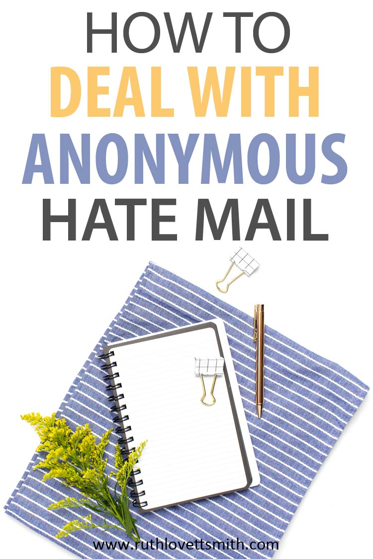 Anonymous Hate Mail Anonymous Letters