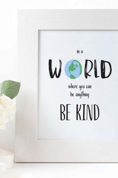 Be Kind Print Featured