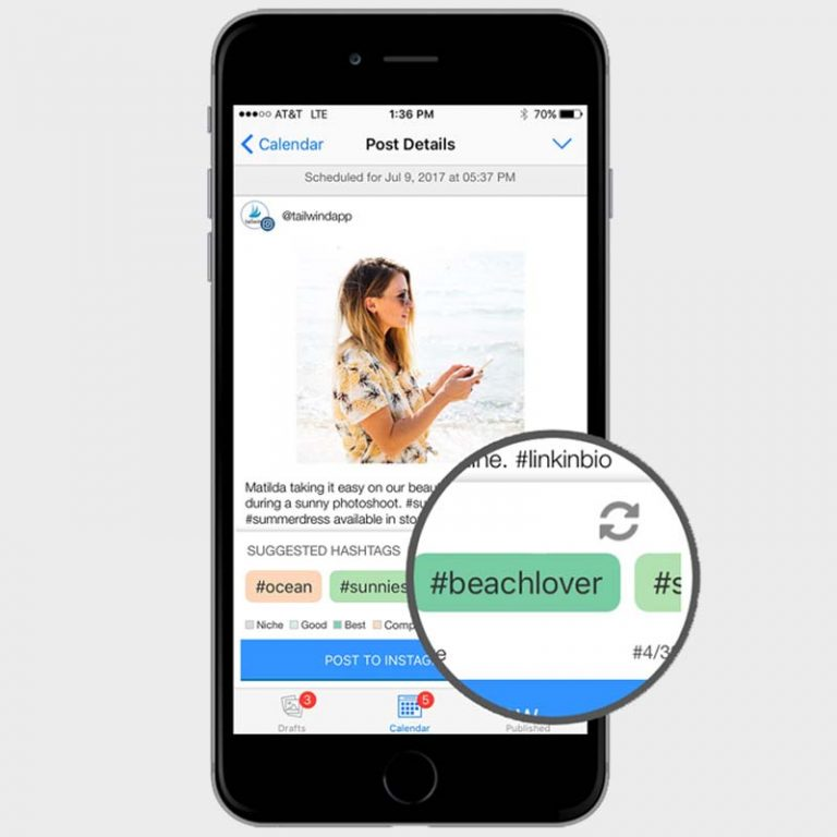 Find the Best Instagram Tags: Tailwind Hashtag Finder