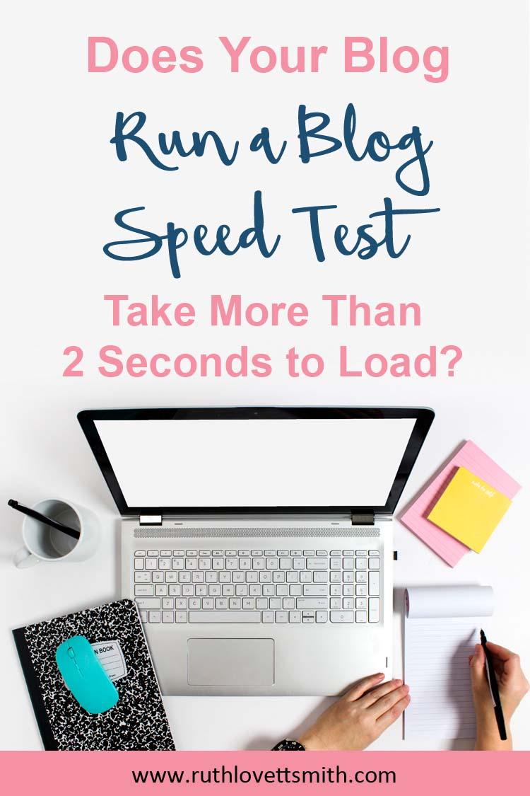 Blog Speed Test