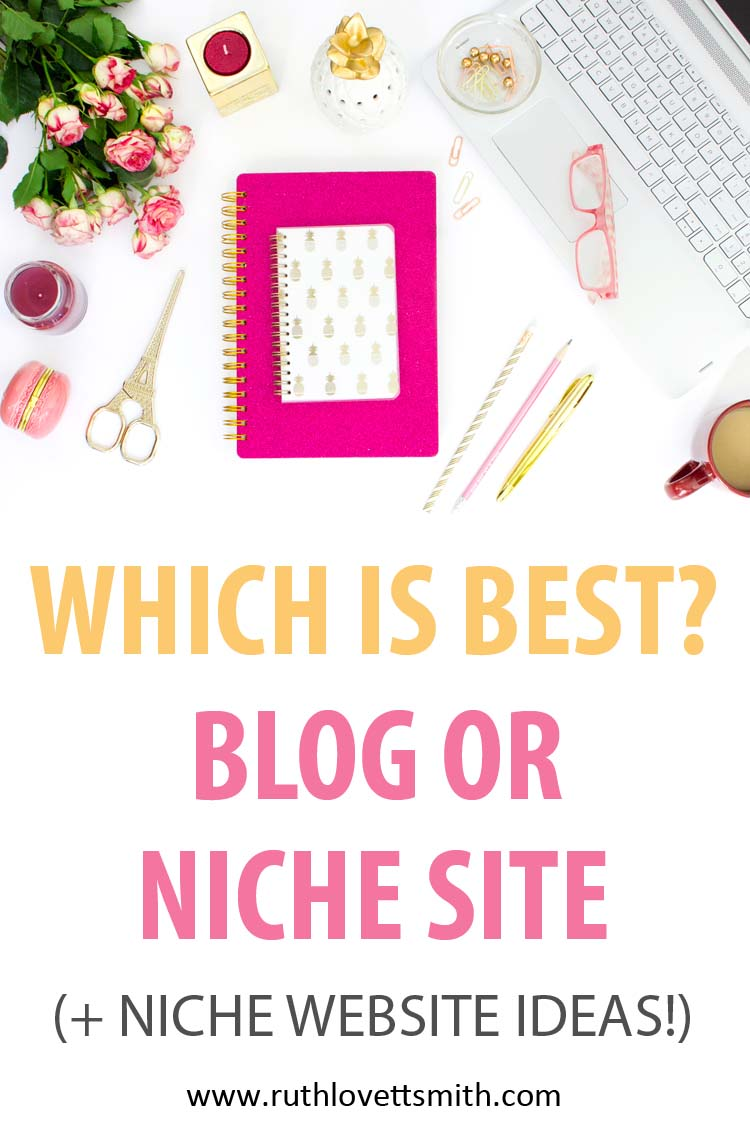 Blog vs Niche Website