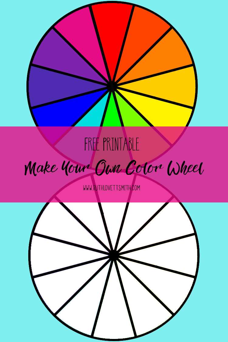 color theory: building a color wheel | ruth lovettsmith