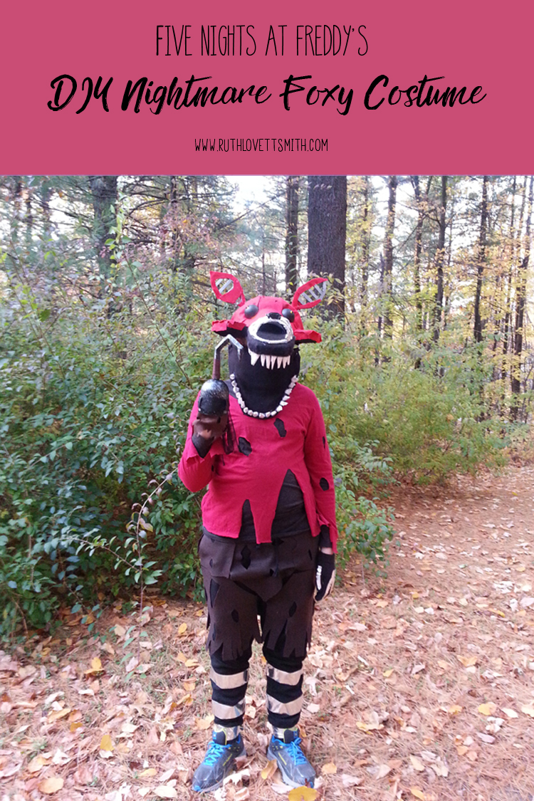 Nightmare Foxy Costume Fnaf Foxy Costume Ruth Lovettsmith
