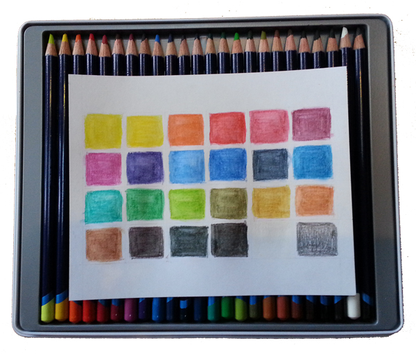 Derwent Inktense Pencils