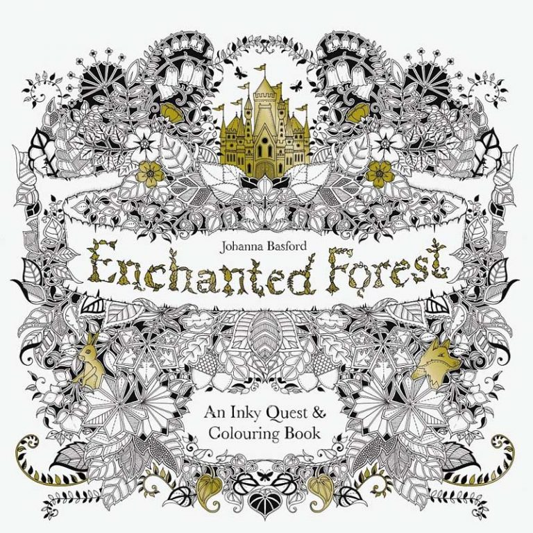 Enchanted Forest: A New Coloring Book For Adults