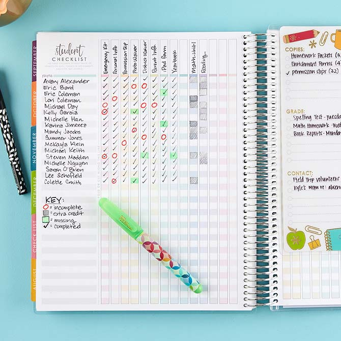 Erin Condren Teacher Lesson Planner