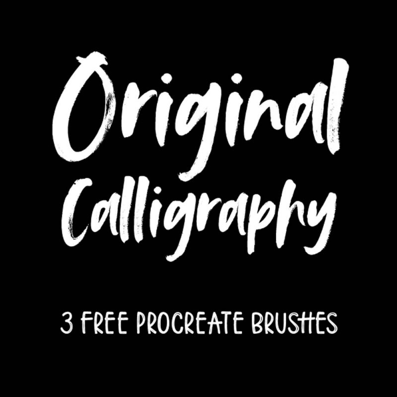 Free Procreate Brushes Ipad Lettering