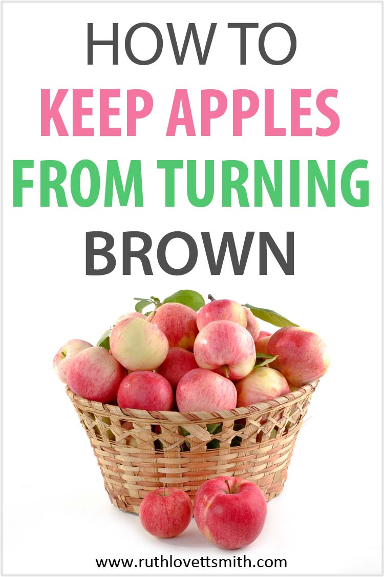 Fruit-Fresh Keep Apples from Turning Brown
