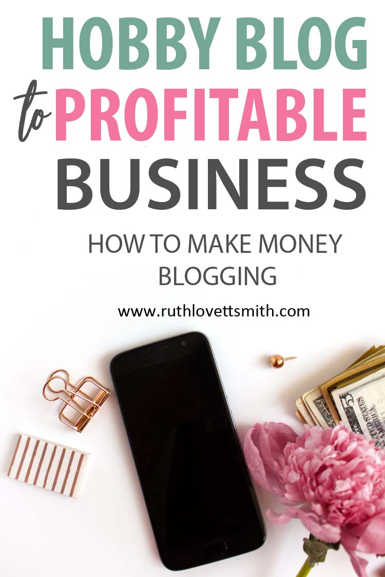 Hobby Blog to Profitable Business