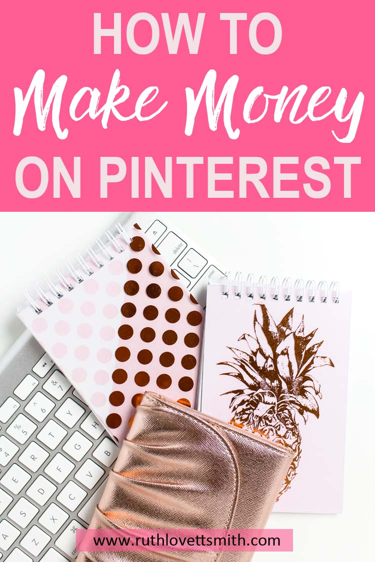 Learn how to make money on Pinterest. Pinterest marketing tips to make money from home. Make money online and make money blogging. #pinterestmarketing #makemoneyonline #makemoneyblogging #workfromhome #bloggingtips