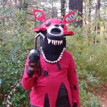 DIY Nightmare Foxy Costume: Five Nights at Freddy's (FNAF)