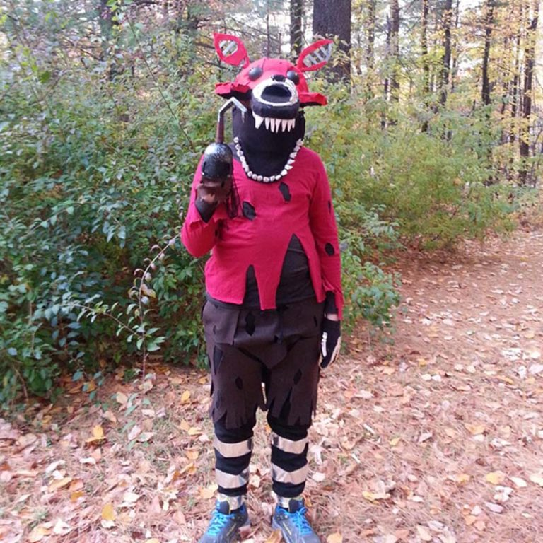 Nightmare Foxy Costume: FNAF Foxy Costume