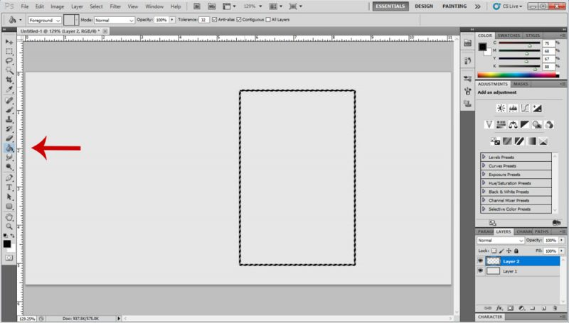 Photoshop Borders Step 4