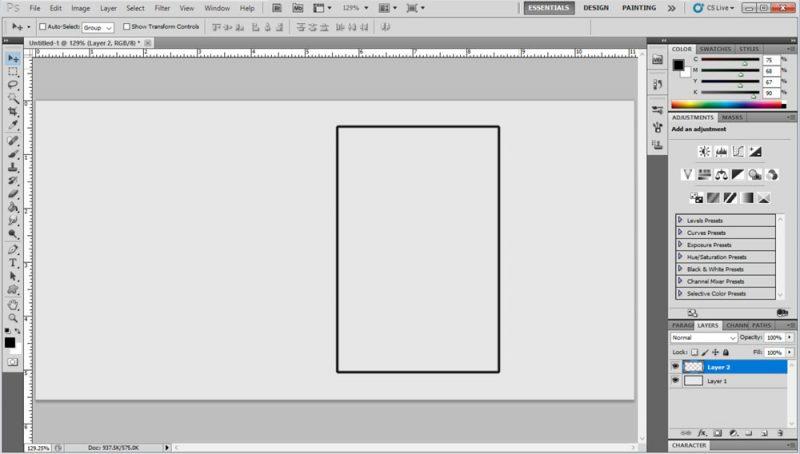 Photoshop Borders Step 5