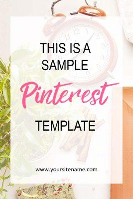 Pinterest Template Free