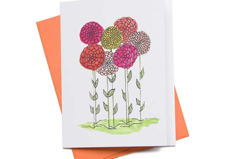 Printable Zinnia Featured