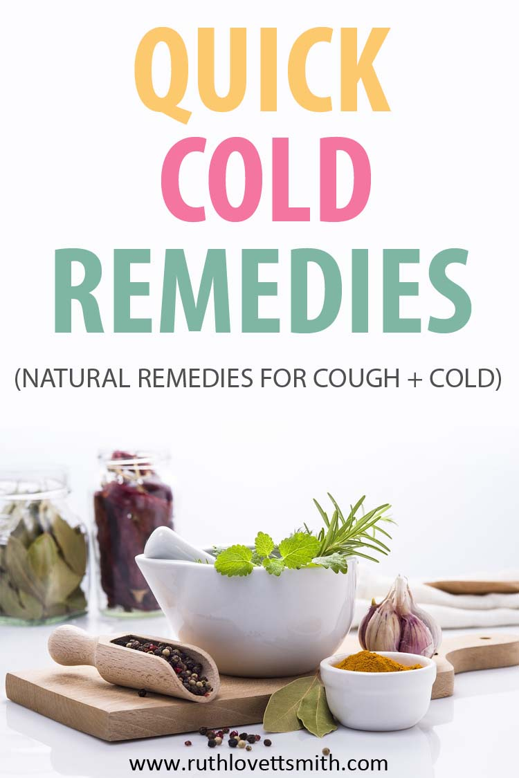 Quick Cold Remedies