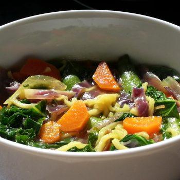 Healthier Ramen Noodle Soup Recipe