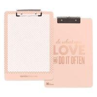 Rose Gold Office Supplies Clipboard 1