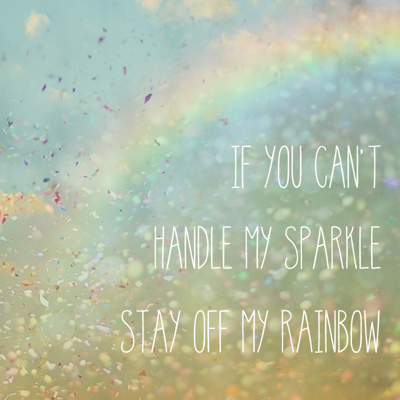 Rainbow Sparkle Printable