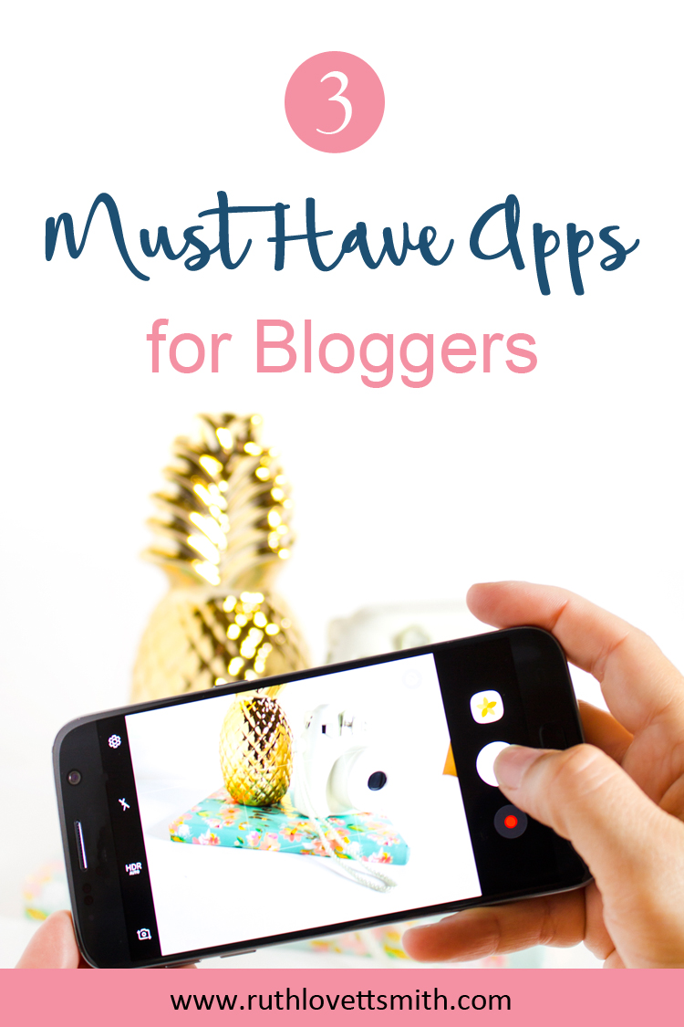 Top 3 Apps for Bloggers