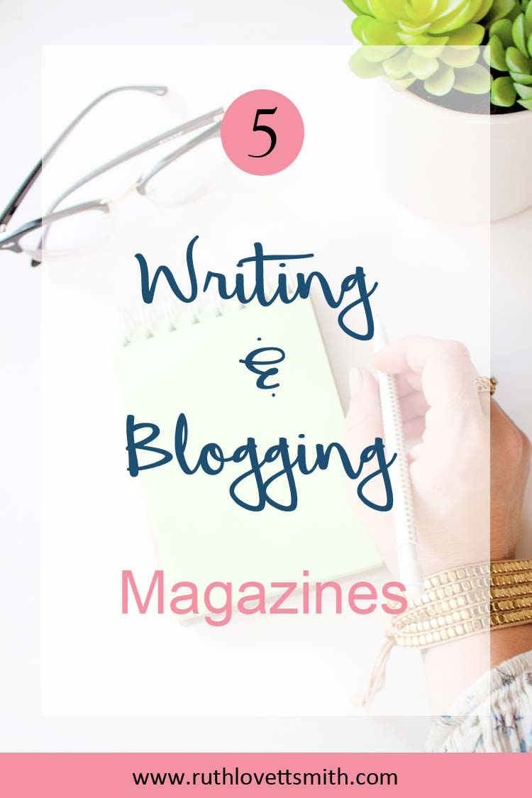 Top 5 Writing and Blogging Magazines