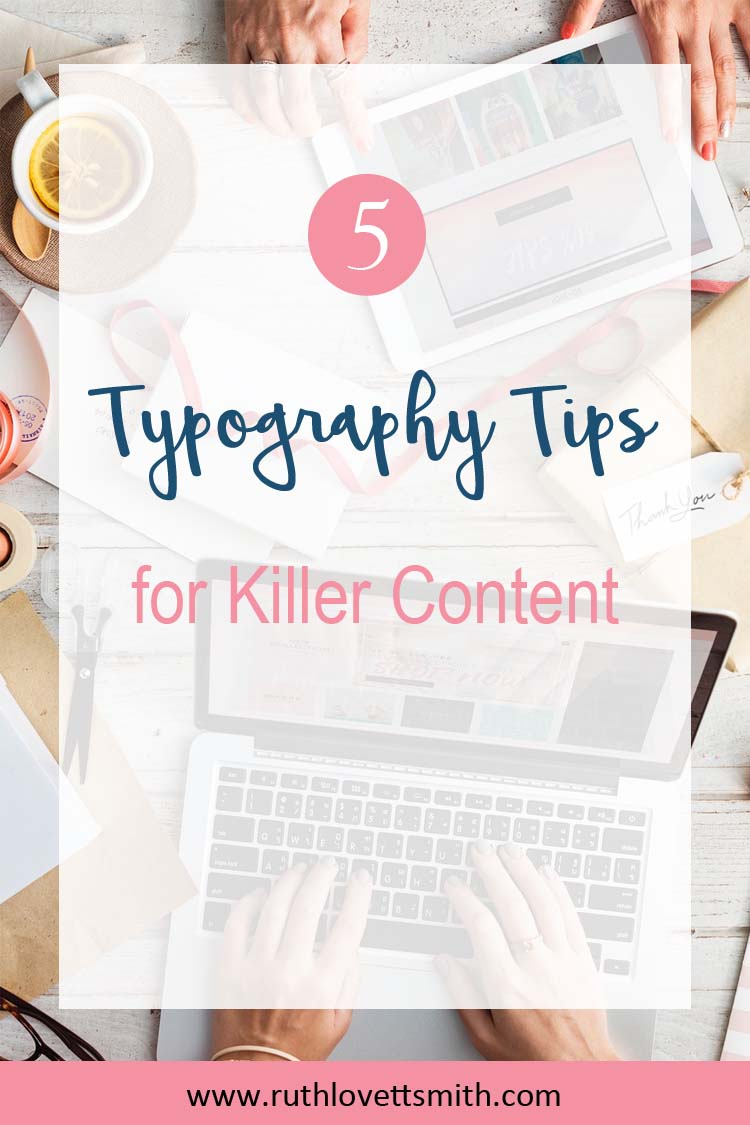 Top Typography Tips