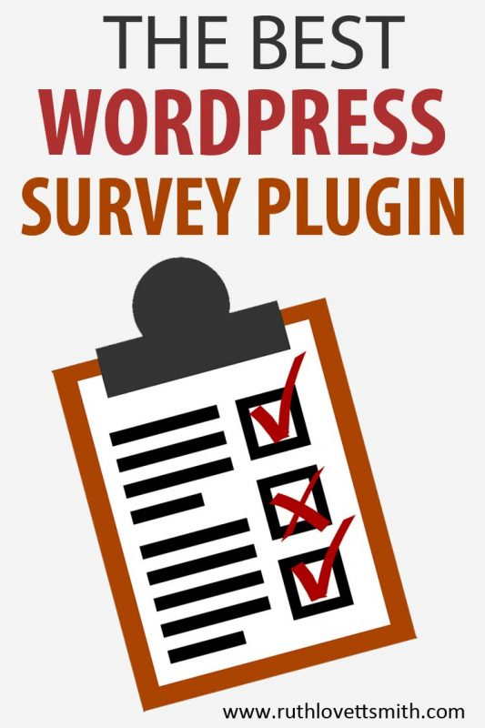 WordPress Survey Plugin