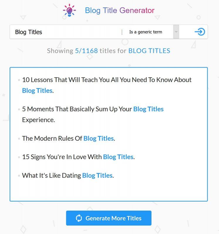 blog title generator seo presser